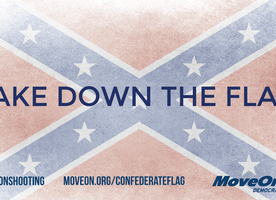Sign the petition: Remove the Confederate Flag From All Government Places
