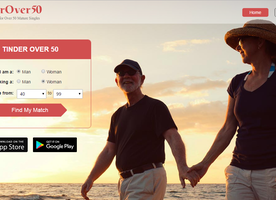 New Dating App Is the Over 50 Version of Tinder