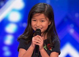 "9-Year-Old Celine Tam Stuns the Crowd with Celine Dion's ""My Heart Will Go On"""