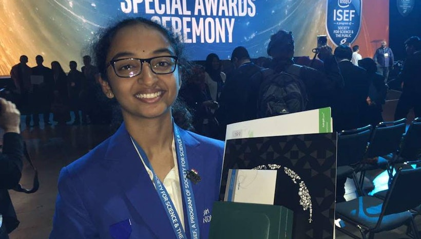 JOURNEY TO THE MILKYWAY - Sahithi Pingali from Inventure Academy Gets a Planet Named After Her at Intel ISEF