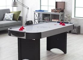Fun With An Air Hockey Table