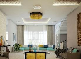 Architects in Kochi   Living room interior designers in Kochi, Kerala