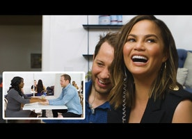 The Best Moments from Chrissy Teigen's Speed Dating Prank