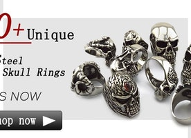 Get the Best Skull Rings Online to Showcase Style and Attitude Handsomely