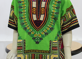 What are some best ways to decorate African fabrics?