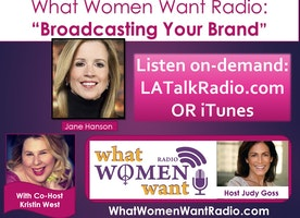 Broadcasting Your Brand:  Insight from Emmy Winning Journalist Jane Hanson