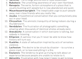 Here are 23 Emotions You Feel, But Could Never Explain.