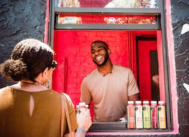 Chris Paul Invests In & Surprises Customers At WTRMLN WTR Pop-Up Shop