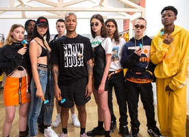 "Heron Preston Presents Second Collection Entitled 'Show House"" In Paris"