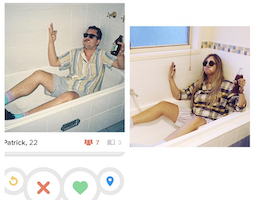 Has This Girl Mastered the Art of Replicating Guy's Funny/Weird Tinder Pics or What?
