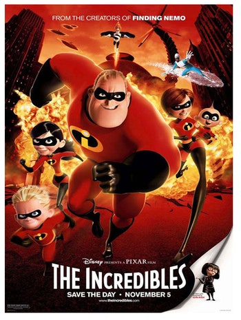 Mr. Incredible and Mr. Fox