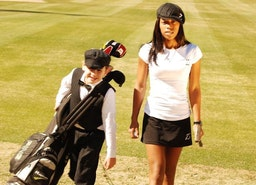 Golf Phenom Zakiya Randall 'Z', Talks Stephen Curry with ESPN