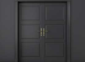 10 Reasons You Should Paint Your Inside Doors Black
