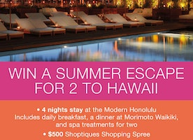 Free Trip to Hawaii for TWO