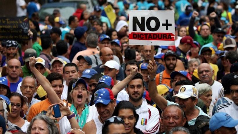 What happened to Venezuela?