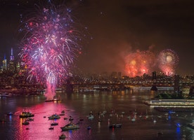 Celebrate July 4th On Governors Island Or At A Beach Bar Overlooking Fireworks