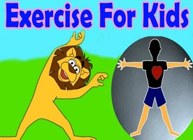 Fitness exercises for children