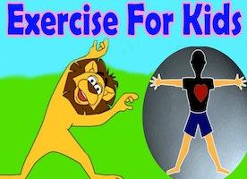 Fitness exercises for children