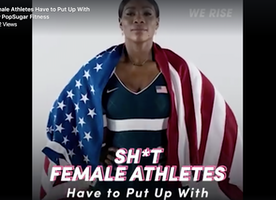[Video] Sh*t Female Athletes Have to Put Up With (via PopSugar)