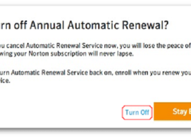 How to Turn Off Norton Auto-Renewal Service?