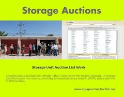 Storage Auctions - Online Auction