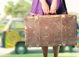 The stuff in my suitcase - How to travel happy and healthy