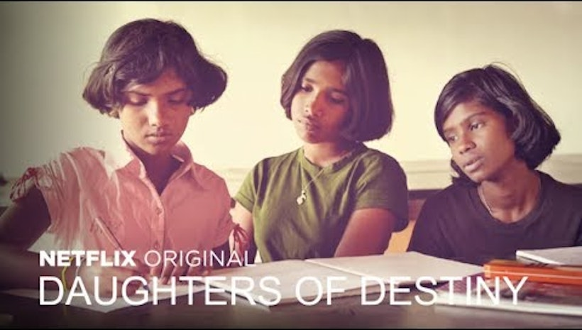 The film Daughters of Destiny on Netflix July 28, 2017
