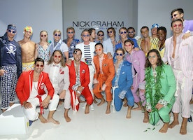 Nick Graham Presents His S/S 2018 Collection Atlantis During Men's Fashion Week