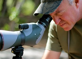 A Guide Spotting Scope for Birding