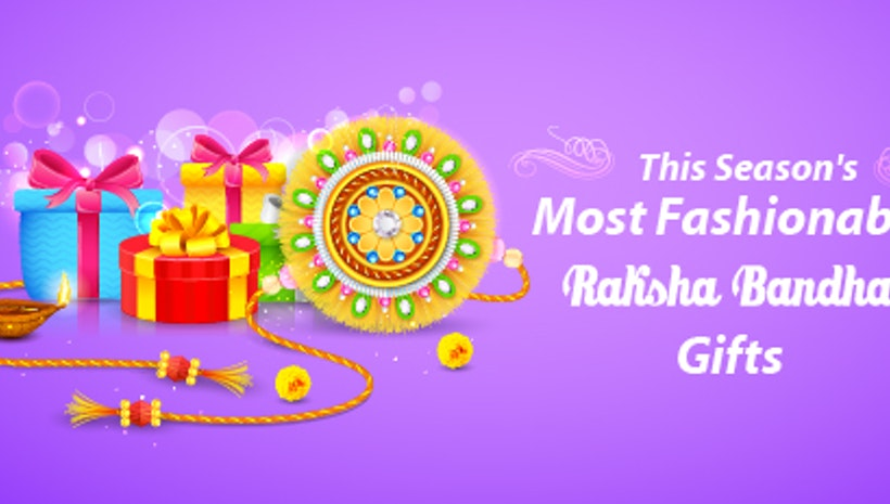 Raksha Bandhan gifts for your fashionista sister!