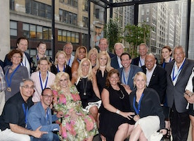 Harriette Rose Katz Hosts The Chosen Few's Third Anniversary & New Member Induction At Second