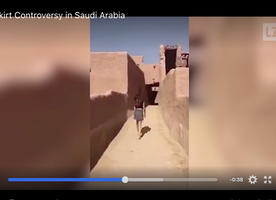 Should this woman have gotten in trouble for wearing a skirt in Saudi Arabia?