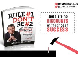New Book Rule #1 Don't Be #2  -  You Get What You Work For, Not What You Wish For