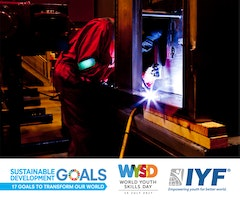 Join the IYF's (ongoing) World Youth Skills Day campaign
