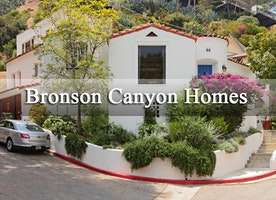 Mid Century Modern Home in Bronson Canyon
