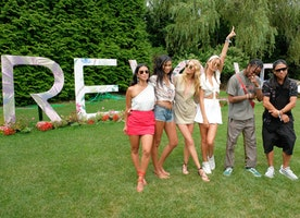 Travis Scott, Olivia Culpo, Chanel Iman, and Elsa Hosk, Close Out #REVOLVEintheHamptons With Moët & Chandon