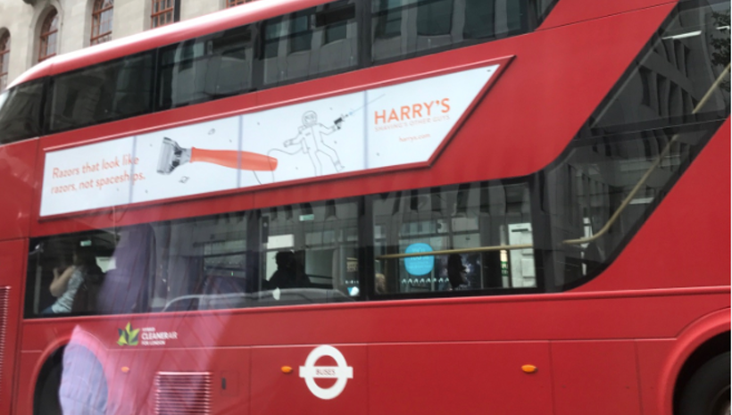 Harry's Launches in the UK