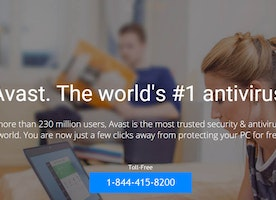 Avast support phone number 1-844-415-8200