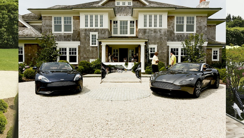 RAND LUXURY Hosts The Annual Aston Martin Brunch In The Hamptons