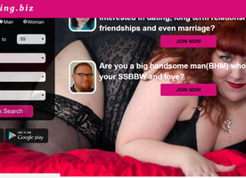 SSBBWDating.biz - Leading BBW Dating Site For SSBBW and SSBBW Lover