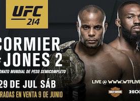 Watch UFC 214 Online Live Stream