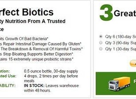 Perfect Biotics Reviews : Read Benefits, Ingredients, Side Effects and Price