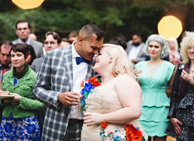 My wedding was perfect - and I was fat as hell the whole time