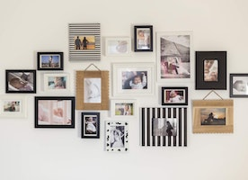 Ideas for Hanging Pictures on Walls without Frames