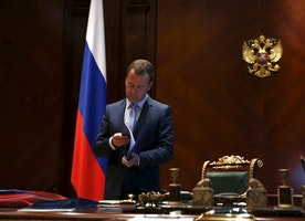 Russia's Medvedev: Ukraine Could Face Yugoslavia-Style Break Up