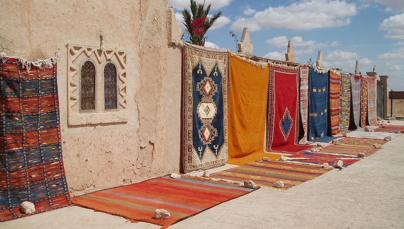 Its rugs and not carpets – facts about Moroccan rugs