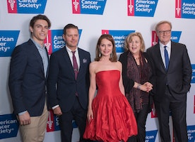 American Cancer Society's Taste Of Hope Comes To Broadway With Supporters Past Honoree Philanthropist Jean Shafiroff