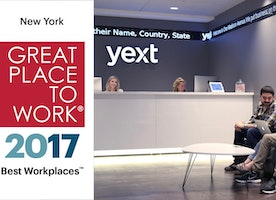Yext Named #1 Best Workplace in New York by Great Place to Work® and Fortune