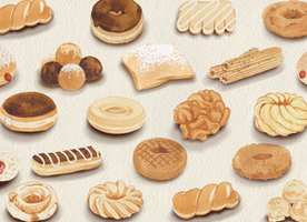 The Illustrated Ultimate Donut Guide