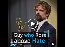 Peter Dinklage provides a fantastic life lesson for all of us in this video.